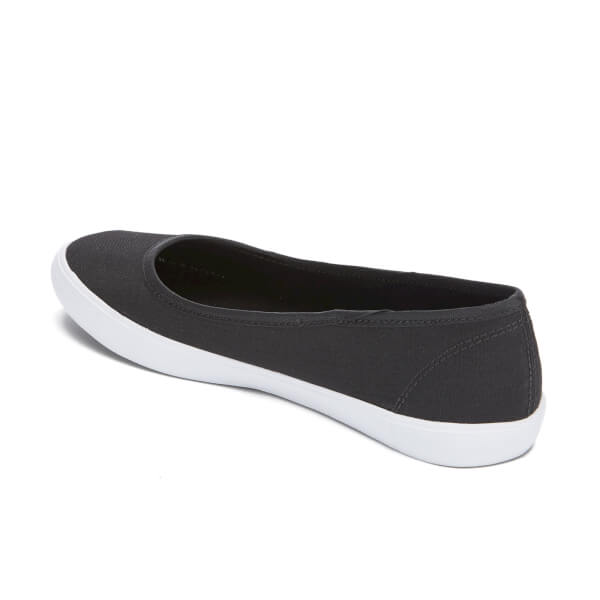 6a015ea3e Lacoste Women s Marthe 316 1 Canvas Ballet Pumps - Black  Image 4