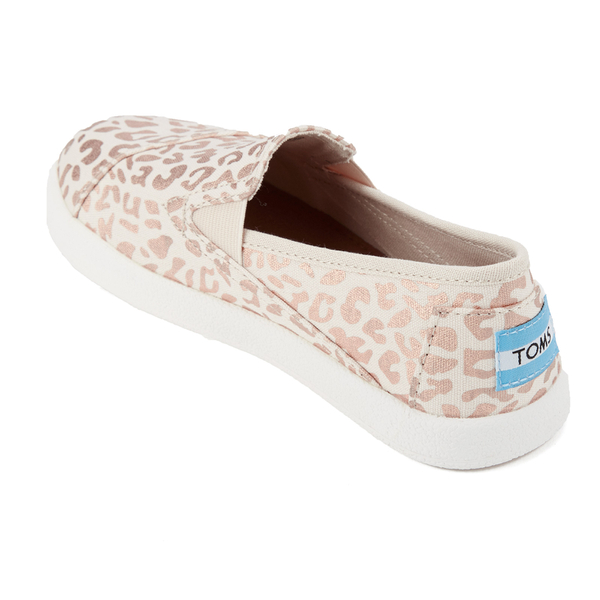 66b5ac932ad TOMS Kids  Avalon Slip-On Trainers - Natural Cheetah Foil  Image 4