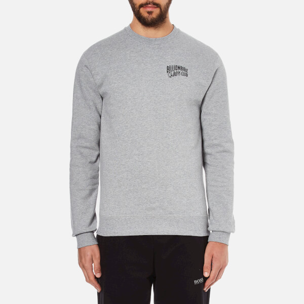 Billionaire Boys Club Men's Small Arch Logo Sweatshirt - Heather Grey