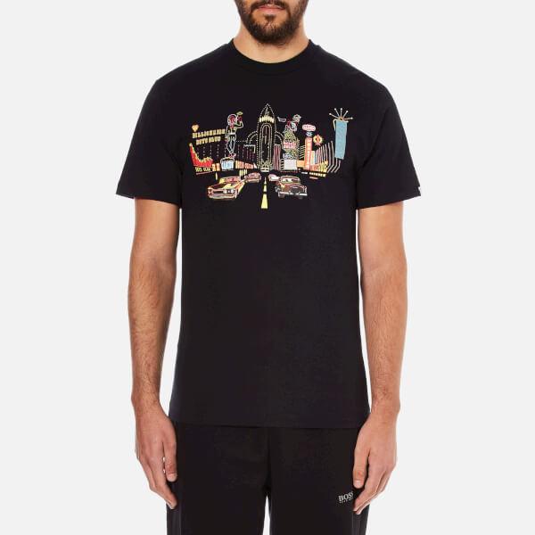 Billionaire Boys Club Men's Vegas Boulevard Short Sleeve T-Shirt - Black