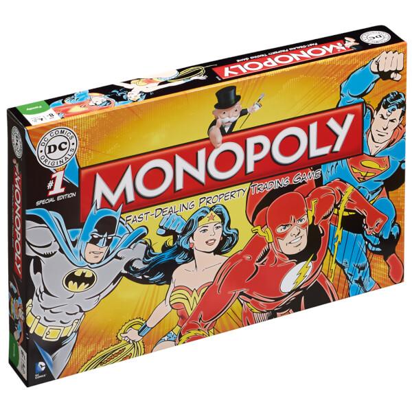 Monopoly - DC Comics Retro Edition