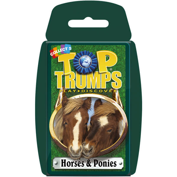 Classic Top Trumps - Horses and Ponies