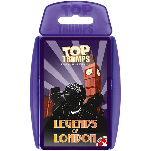 Classic Top Trumps - Legends of London
