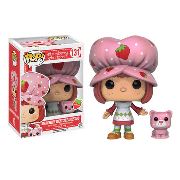 Strawberry Shortcake and Custard Scented Pop! Vinyl Figure