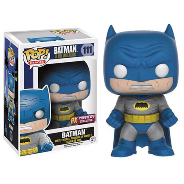 Batman: The Dark Knight Returns Batman Blue Version Pop! Vinyl Figure - Previews Exclusive