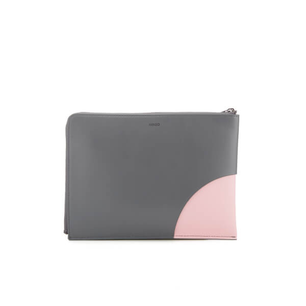 KENZO Women's Kurved Pouch - Grey/Pink