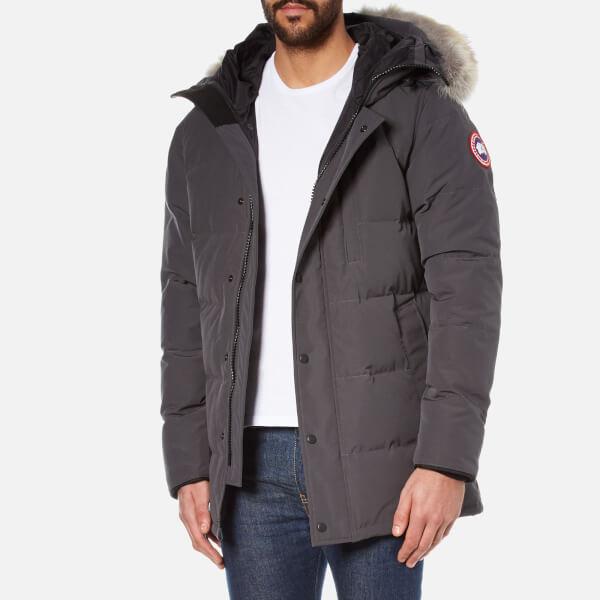 canada goose jacket graphite