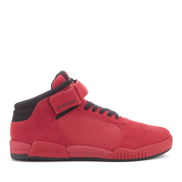 Buy Good Mens Athletic Shoes - Supra Ellington Strap Red Suede