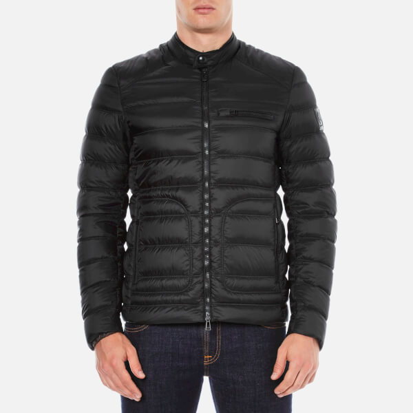 Belstaff Men S Halewood Down Jacket Black Free Uk