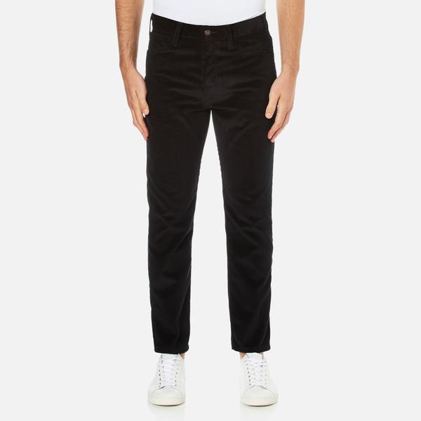 Levi's Vintage Men's 519 Regular Fit Cords Jeans - Black Ink