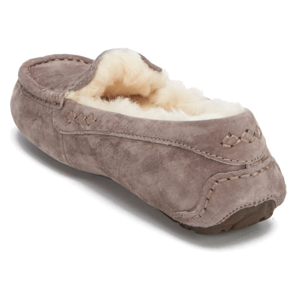 UGG Women's Ansley Moccasin Suede Slippers - Stormy Grey: Image 4