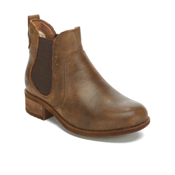 Ugg Women S Bonham Leather Chelsea Boots Stout Womens