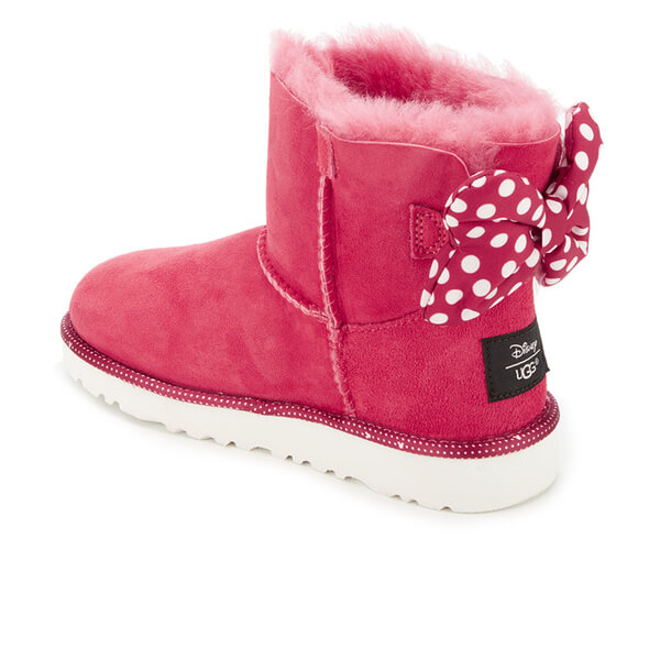 UGG Kids' Sweetie Bow Disney Boots - Red: Image 4