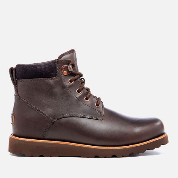 UGG Men's Seton TL Waterproof Leather Lace Up Boots - Stout