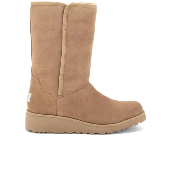 UGG Women's Amie Classic Slim Sheepskin Boots - Chestnut