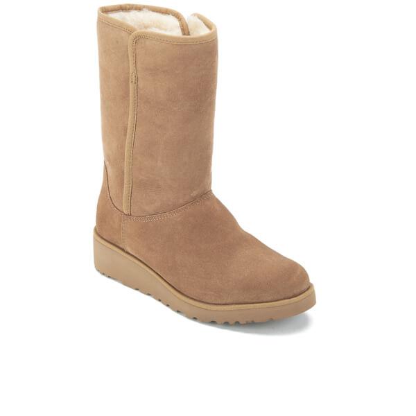 UGG Women s Amie Classic Slim Sheepskin Boots - Chestnut Womens ... 49084d137d