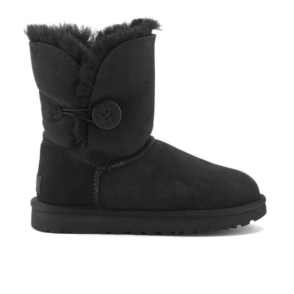 UGG Women's Bailey Button II Sheepskin Boots - Black