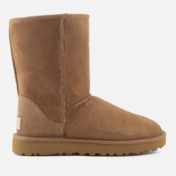 UGG Women's Classic Short II Sheepskin Boots - Chestnut