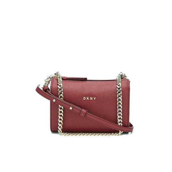 DKNY Women's Bryant Park Square Crossbody Bag - Scarlet