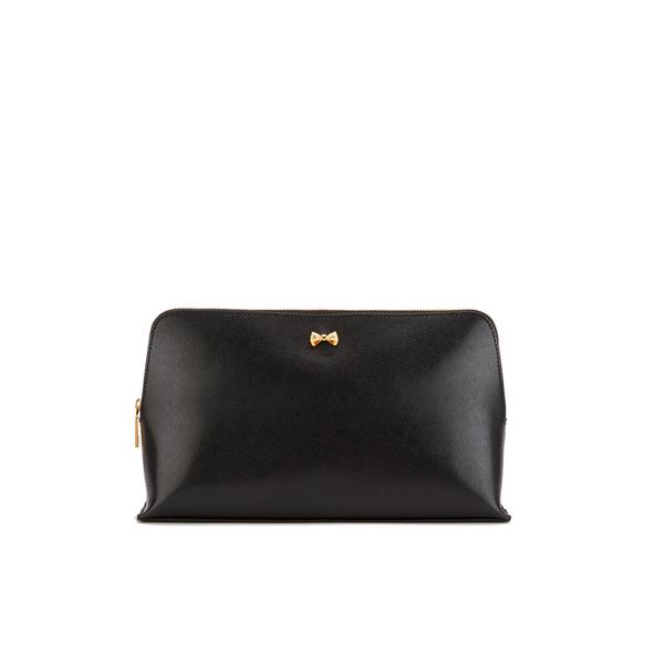 2b320091c72bd Ted Baker Women s Lynner Mini Bow Large Wash Bag - Black  Image 1