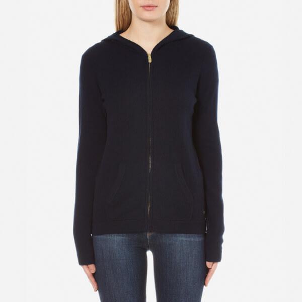 Woolrich Women's Cashmere Open Hoody - Dark Navy