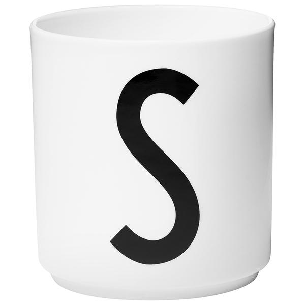 Design Letters Porcelain Cup - S
