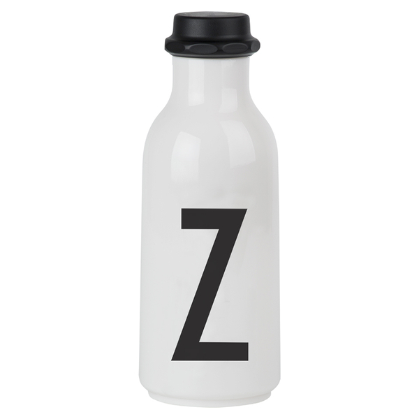 Design Letters Water Bottle - Z