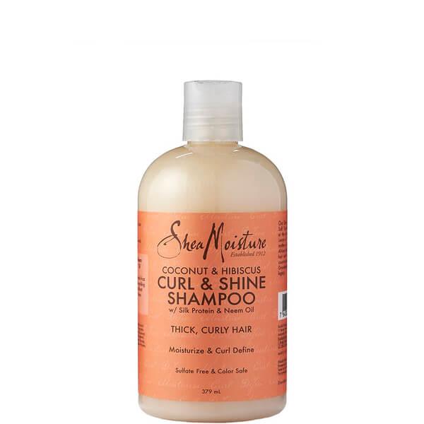 Champú Curl & Shine de Coco e Hibisco de Shea Moisture 379 ml