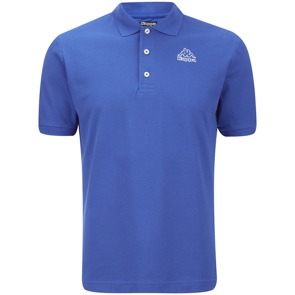 Kappa Men 39 S Omini Polo Shirt Royal Blue Clothing Zavvi