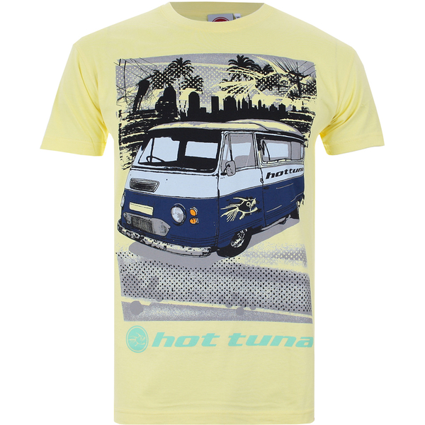 Hot Tuna Men's Camper T-Shirt - Pale Yellow