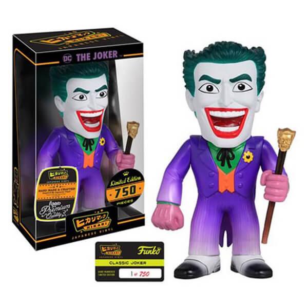 Batman Classic Joker Hikari Sofubi Vinyl Figure