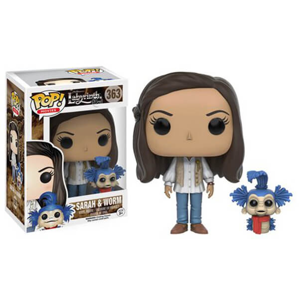 Labryinth Sarah with Worm Pop! Vinyl Figure
