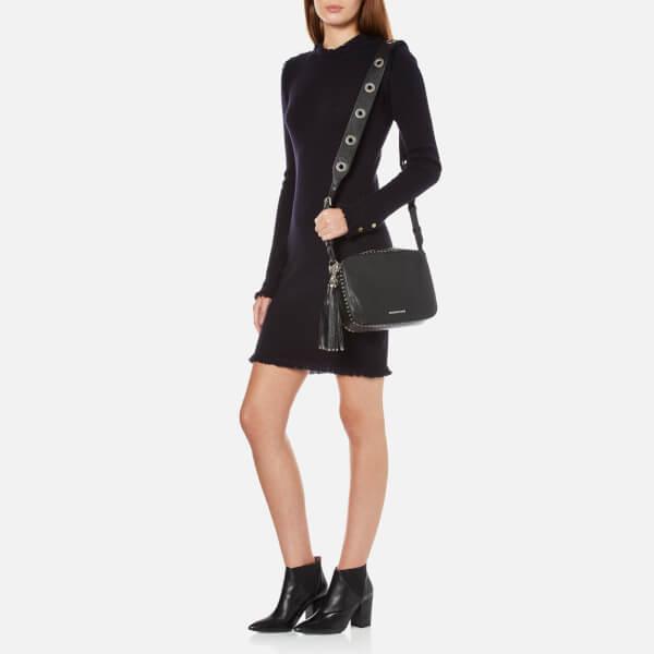 Michael Kors Women S Brooklyn Large Camera Bag Black Image 2