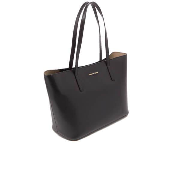 e3f20cc5577a MICHAEL MICHAEL KORS Women's Emry Mid Tote Bag - Black: Image 3