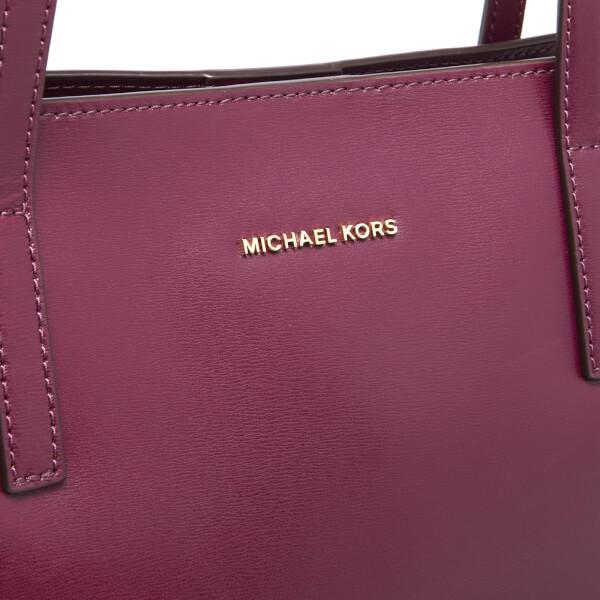 287d1512129f MICHAEL MICHAEL KORS Women's Emry Mid Tote Bag - Plum: Image 4