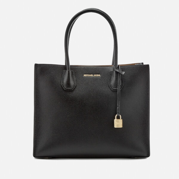 MICHAEL MICHAEL KORS Women's Mercer Large Conversational Tote Bag - Black