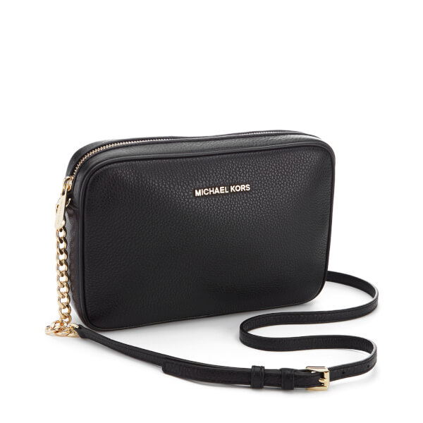 MICHAEL MICHAEL KORS Women s Bedford Large East West Cross Body Bag - Black   Image 3 88df233d0d29d