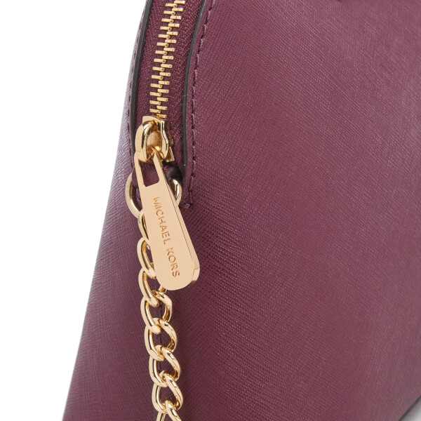 eb5348bcc26c MICHAEL MICHAEL KORS Women's Cindy Large Dome Cross Body Bag - Plum: Image 5