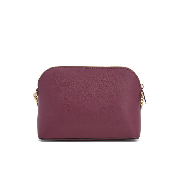 c855b55330f1 MICHAEL MICHAEL KORS Women's Cindy Large Dome Cross Body Bag - Plum: Image 7