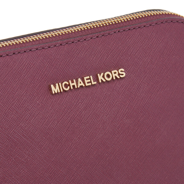 b2b560bc3234 MICHAEL MICHAEL KORS Women's Cindy Large Dome Cross Body Bag - Plum: Image 4
