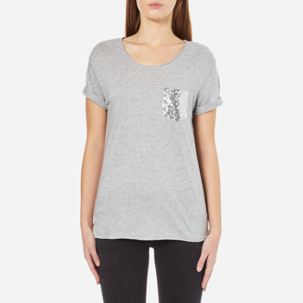 BOSS Orange Women's Tamiasa T-Shirt - Medium Grey