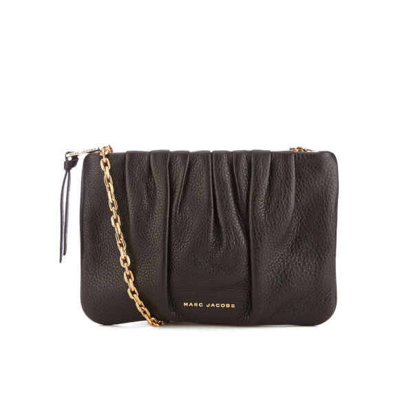 Marc Jacobs Women's Gathered Pouch Bag with Chain - Black