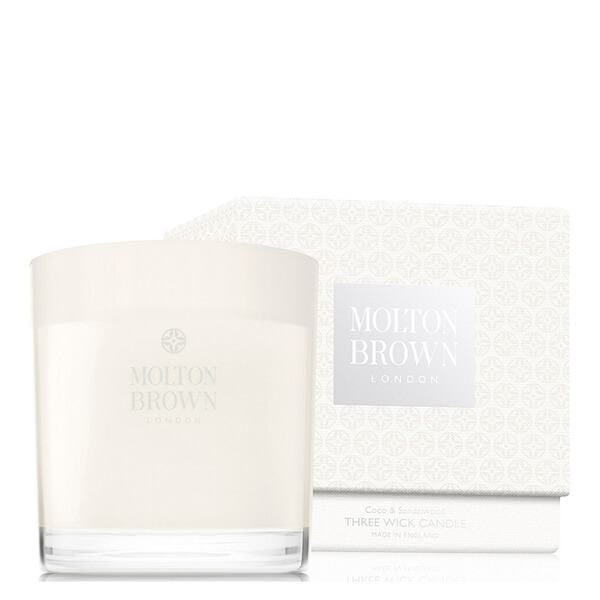 Molton Brown Coco & Sandalwood Three Wick Candle 480 g