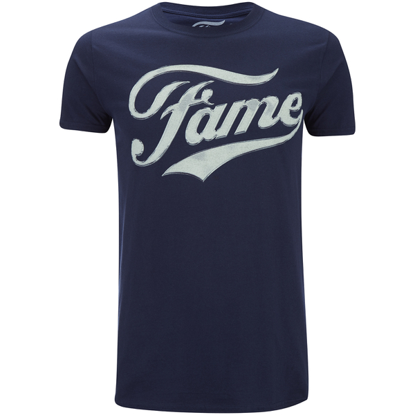 Fame Men's Logo T-Shirt - Navy