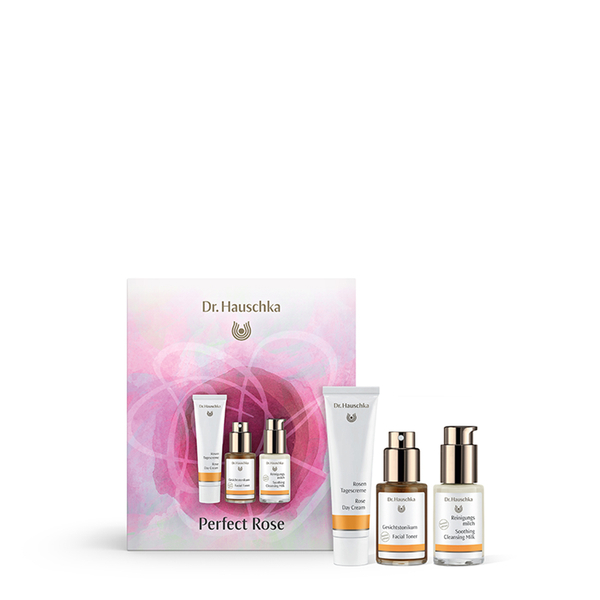 dr hauschka perfect rose set worth free shipping lookfantastic. Black Bedroom Furniture Sets. Home Design Ideas