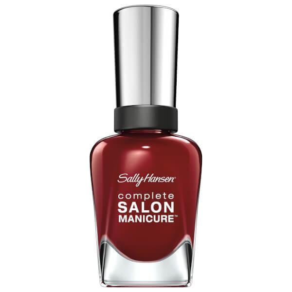 Sally Hansen Complete Salon Manicure 3.0 Keratin Strong Nail Varnish - Red Zin 14.7ml
