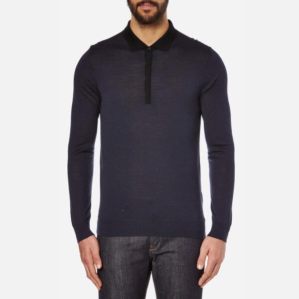 HUGO Men's Seven Knitted Top - Black