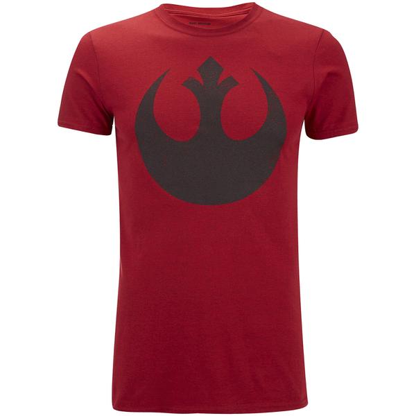 T-Shirt Homme Star Wars Rebel Alliance Antique - Rouge