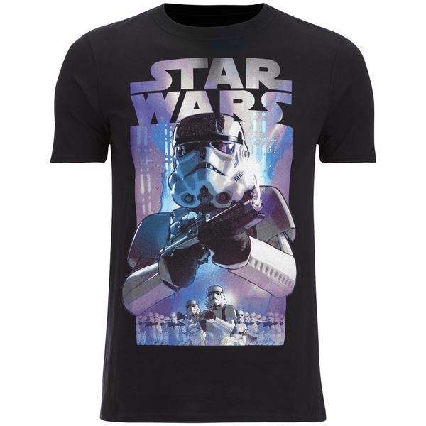 Star Wars Men's Stormtroopers T-Shirt - Black