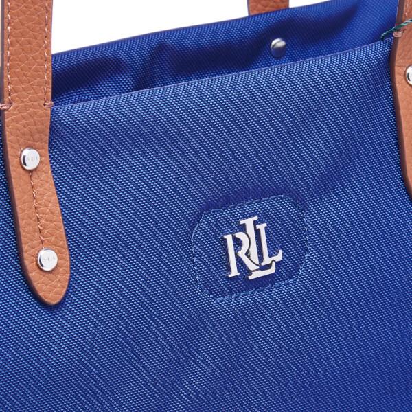 Lauren Ralph Lauren Women s Bainbridge Tote Bag - Bright Navy  Image 4 baa9b58767e59